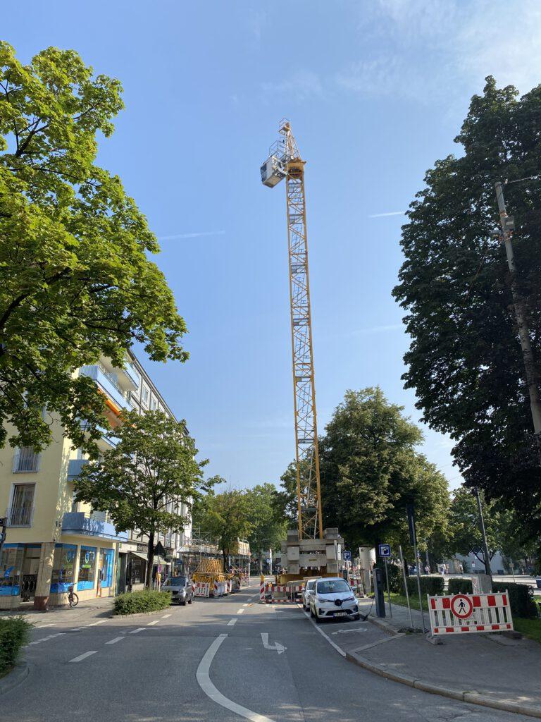 Kranaufbau München