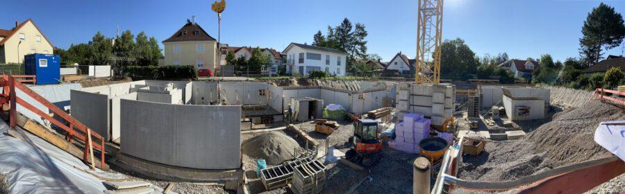 Baustelle Lachenmeyrstr München