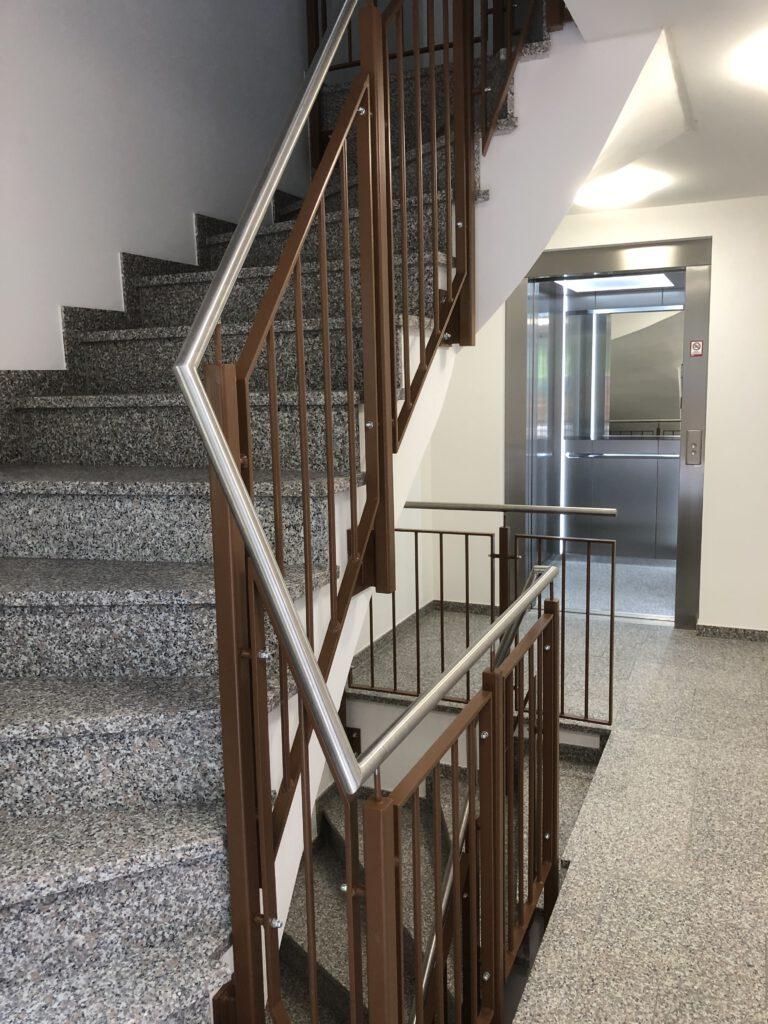 Bauträgerobjekt Treppen Oberhaching