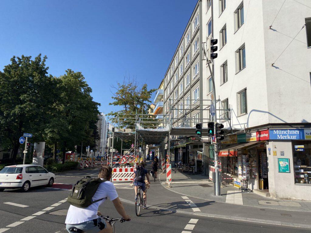 Verkehrssicherung Dachauer Straße München